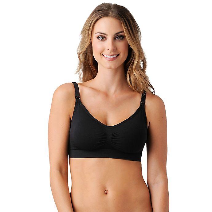 Alternate image 1 for Belly Bandit® Size Extra Large Bandita Nursing Bra in Black