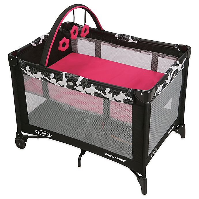 Alternate image 1 for Graco® Pack 'n Play® On-the-Go Travel Playard in Azalea™