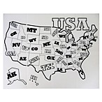 Silikids® Silimap™ Reusable United States Silicone Placemat