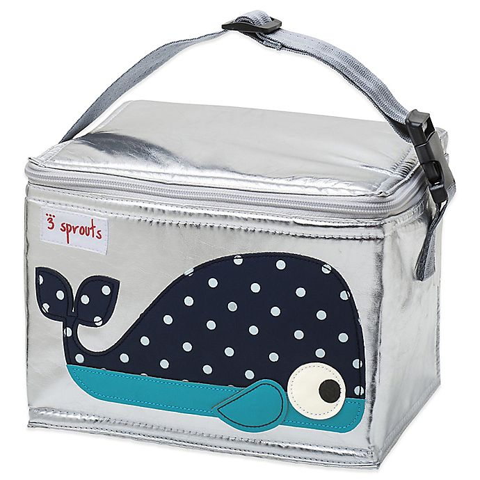 Alternate image 1 for 3 Sprouts Lunch Bag in Whale