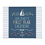 carter's® Under the Sea  Our Baby's First Year Calendar  in Blue