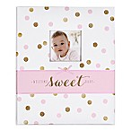 Carter's® Sweet Sparkle  Welcome Sweet Baby  Loose Leaf Memory Book in Pink