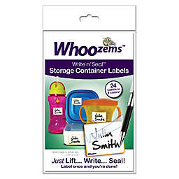 Whoozems™ 24-Pack Write n' Seal™ Storage Container Labels