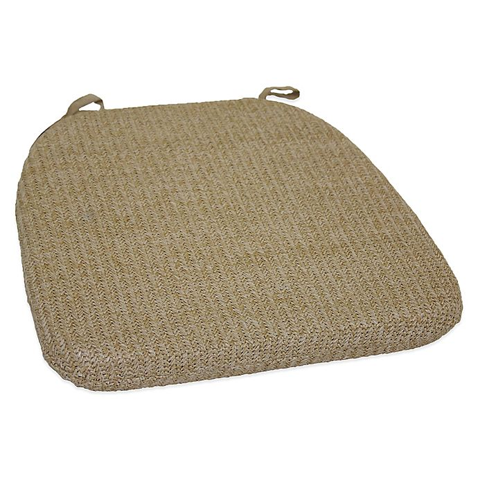 Hermosa Chair Pad In Natural Bed Bath And Beyond Canada