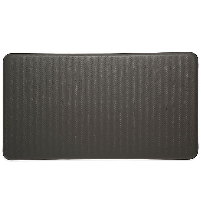 Alternate image 1 for Imprint® Cumulus9™ 20-Inch x 36-Inch Chevron Series Anti-Fatigue Comfort Mat in Steel Grey