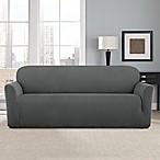 Sure Fit® Modern Chevron Sofa Slipcover