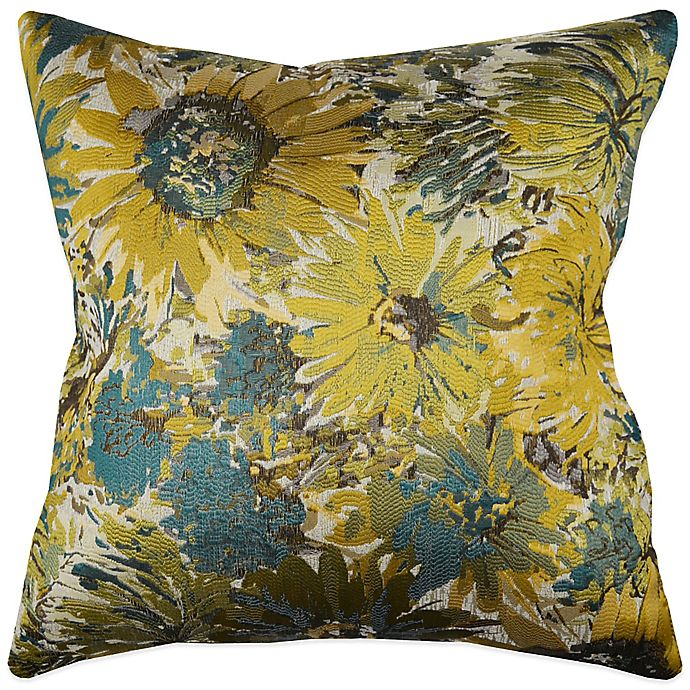 MYOP My Fair Lady Square Throw Pillow Cover in Blue | Bed Bath