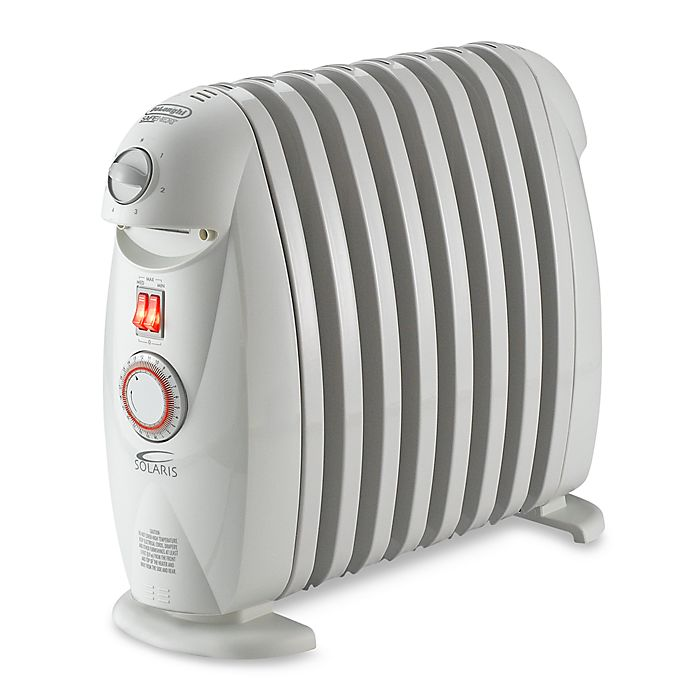 Alternate image 1 for De'Longhi SafeHeat Electric Oil-Filled Radiator