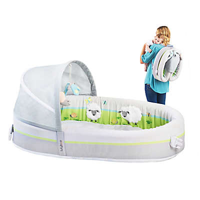 Lulyboo® Lamb Baby Bassinet To-Go Premium Bed