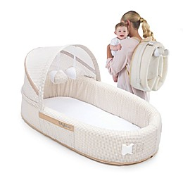LulyBoo® Bassinet To-Go Travel Bed in Natural