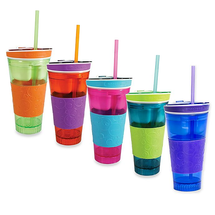 Snackeez Travel Snack Drink Cup Bed Bath Amp Beyond