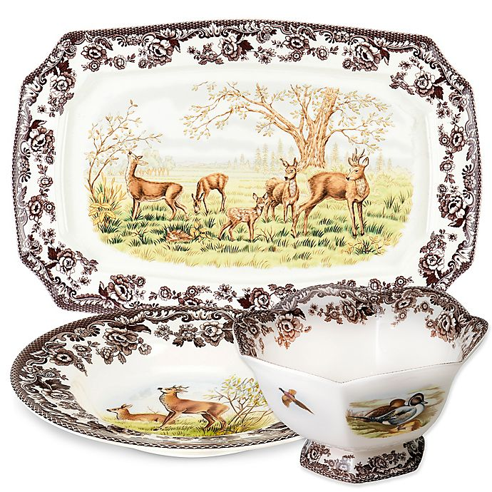 Alternate image 1 for Spode® Woodland Deer Dinnerware Collection