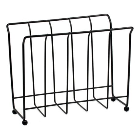 spectrum wire magazine rack bed bath beyond. Black Bedroom Furniture Sets. Home Design Ideas