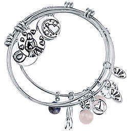 "Shine Charm Bangles ""A Mother Holds Her Child"" Value Set of 3"
