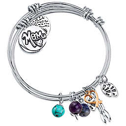 "Shine Charm Bangles ""I Love You to the Moon & Back"" Value Set of 3"