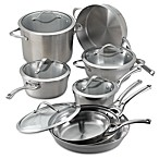 Calphalon® Contemporary Stainless Steel 13-Piece Cookware Set