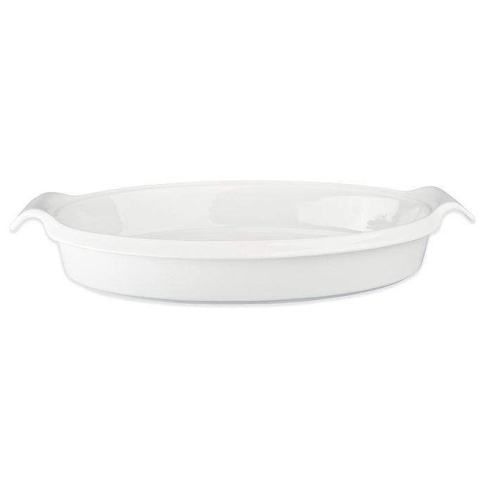 Alternate image 1 for BIA Cordon Bleu White Porcelain Oval Baking Dish
