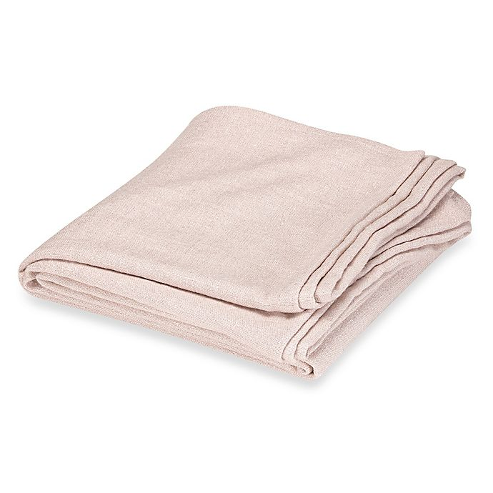 Alternate image 1 for Wamsutta® Vintage Verona Twin Blanket in Blush