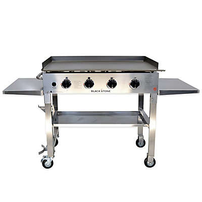 Blackstone® 1560 Stainless Steel 4-Burner Griddle Gas Cooking Station