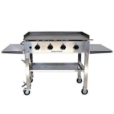 Blackstone® 1560 Stainless Steel 4-Burner Griddle Gas Cooking Station