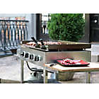 Alternate image 3 for Blackstone�� 1560 Stainless Steel 4-Burner Griddle Gas Cooking Station