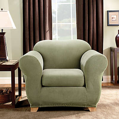 Sure Fit® Madison Stripe Chair Slipcover