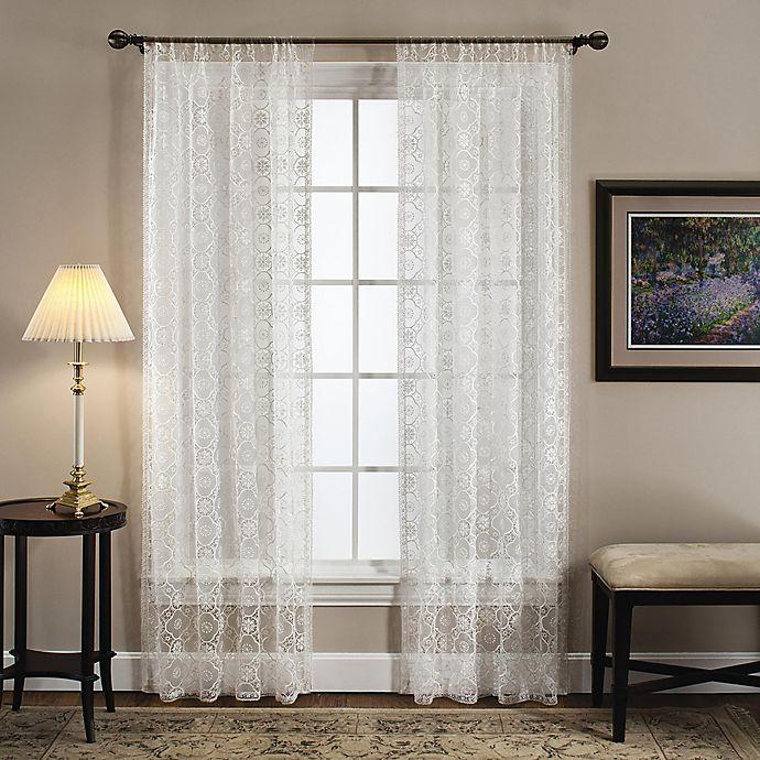 Alternate image 1 for Today's Curtain Richmond Macram Window Curtain Panel