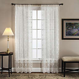 Today's Curtain Richmond Macram Window Curtain Panel and Valance