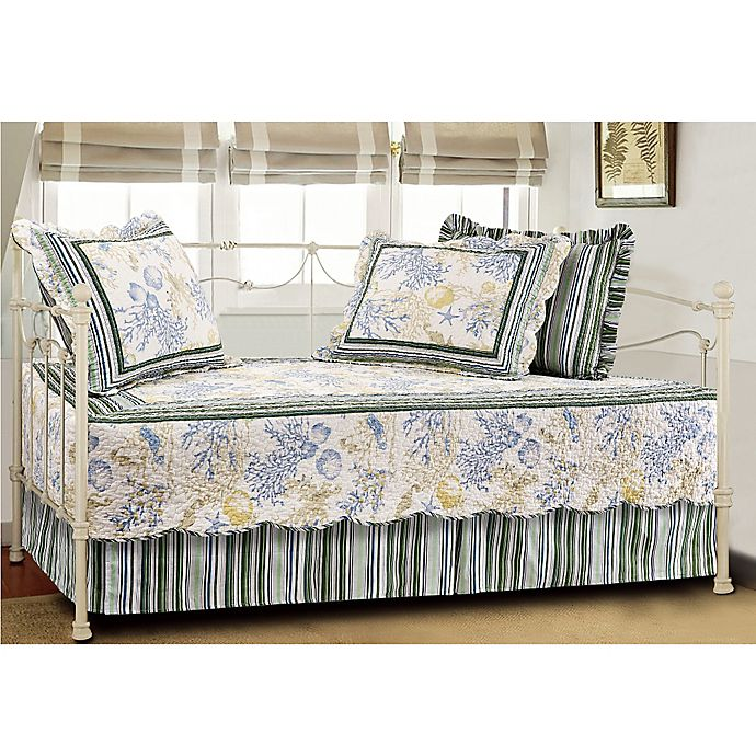 Jcpenney Furniture Store Locations: Coral Coastal Quilted Reversible Daybed Bedding Set In