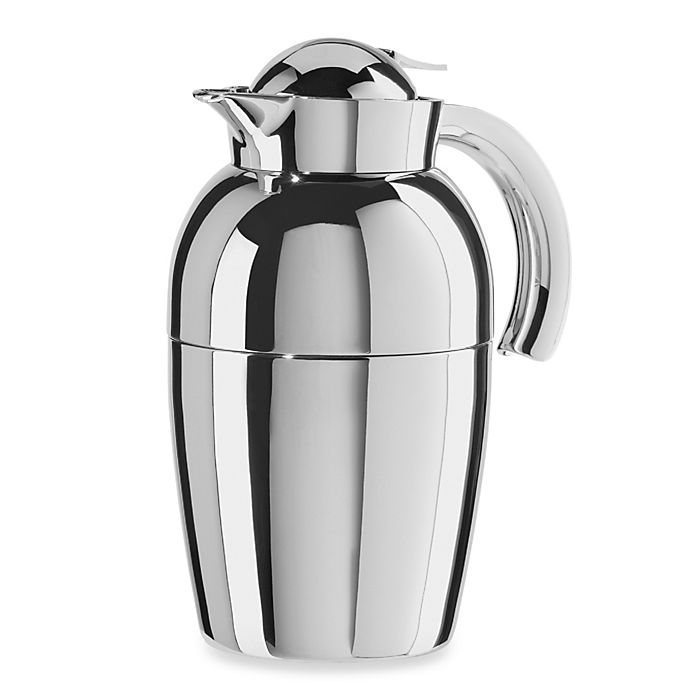 Alternate image 1 for Oggi™ Senator 34 oz.  Stainless Steel Carafe