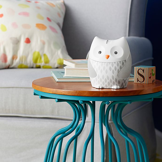 Alternate image 1 for SKIP*HOP® Moonlight & Melodies Owl Projection Nightlight in White