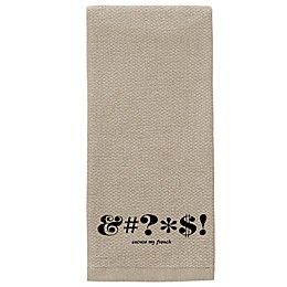 kate spade new york Expletive Kitchen Towel