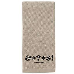 kate spade new york Expletive Kitchen Towel