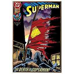 Death of Superman #75 Wall Décor Plaque