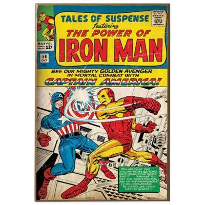 "Iron Man ""Tales of Suspense"" Wall Décor Plaque | Bed Bath ..."