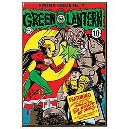 Green Lantern #7 Wall Décor Plaque