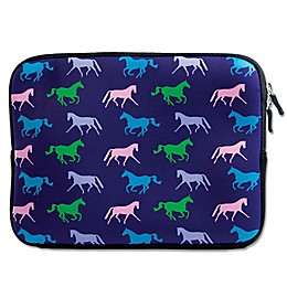 Tek Trek Neoprene Zippered iPad Sleeve with Horse Graphic