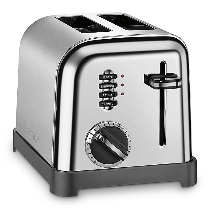 Cuisinart 174 2 Slice Toaster In Brushed Stainless Steel