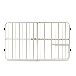 Carlson Tuffy Expandable Pet Gate with Small Door