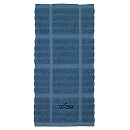 All-Clad Solid Kitchen Towel in Cornflower