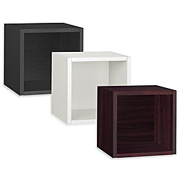 Way Basics Wall Cube zBoard paperboard Floating Shelf