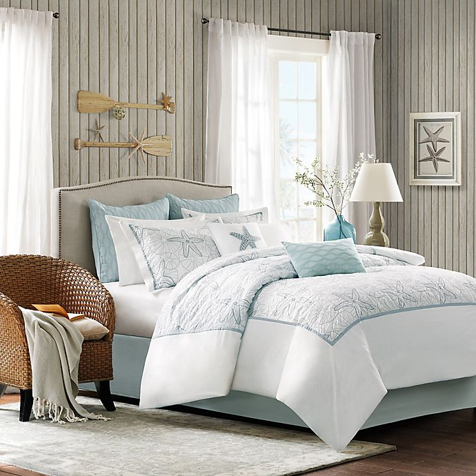 Alternate image 1 for Harbor House® Maya Bay Comforter Set in White