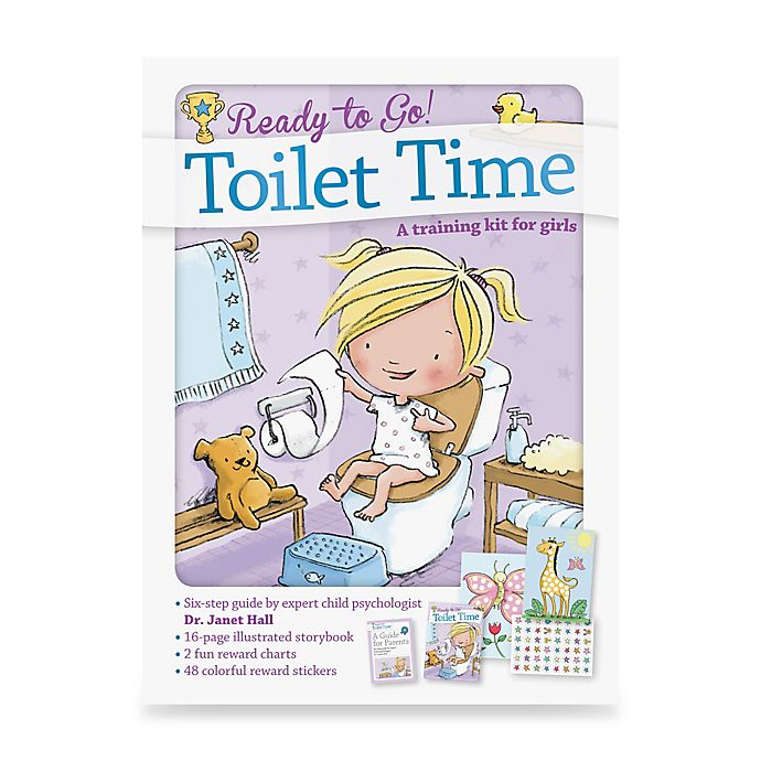 Alternate image 1 for Ready to Go Toilet Time Potty: A Training Kit for Girls by Dr. Janet Hall