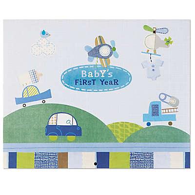 """C.R. Gibson Boy Oh Boy """"Baby's First Year"""" Calendar"""