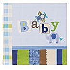 C.R. Gibson Boy Oh Boy  Baby  Slim Bound Photo Journal Album in Blue