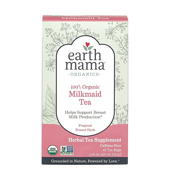 Alternate image 1 for Earth Mama Angel Baby® 16-Count Organic Milkmaid Tea