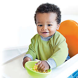 Kiddologic® bibit-all™ Sleeved Bib in Fresh Lime