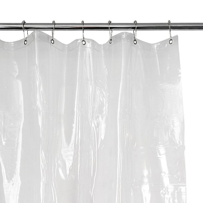EVA 54 Inch X 78 Vinyl Shower Curtain Liner In Clear