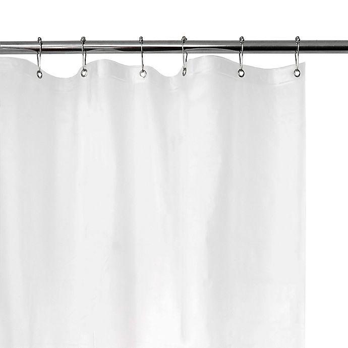 Alternate image 1 for EVA Vinyl Shower Curtain Liner