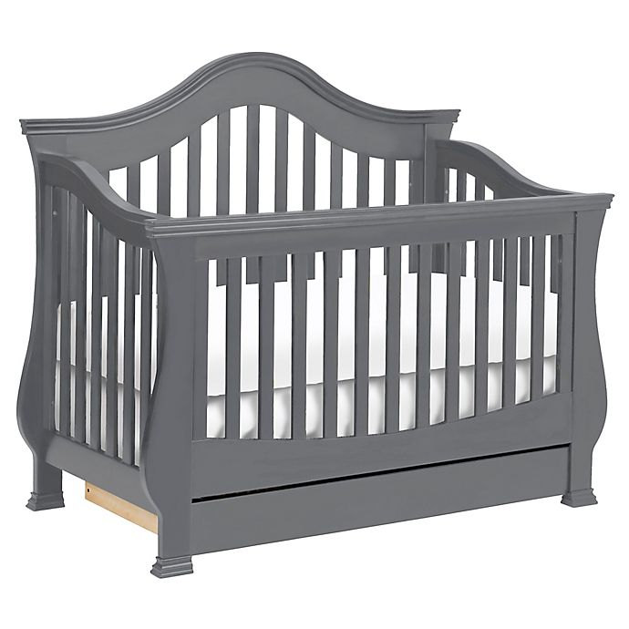 Alternate image 1 for Million Dollar Baby Classic Ashbury 4-in-1 Convertible Crib in Manor Grey